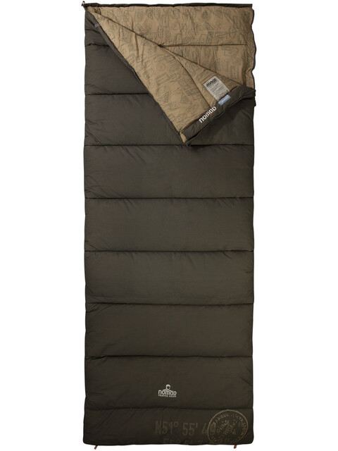 Nomad Blazer Outback Sleeping Bag leaf/print